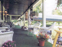 The Sterling Inn Porch