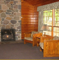 Pocono Cabin with fireplace