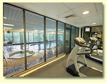 Fitness Center and Indoor Pool
