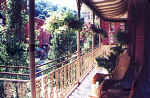 Balcony at Inn at Jim Thorpe