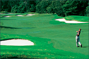 Mr Airy Golf Course in the Poconos Mountains
