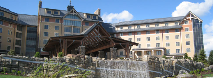 Mt Airy Casino in the Poconos Mountains