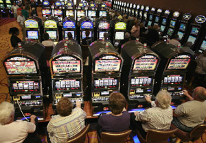 Mt Airy Casino Slot Players