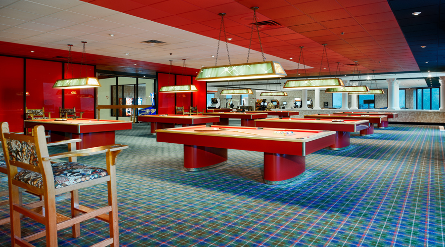 Billards and Game room