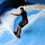 Flow rider Water ride at Split Rock Resort